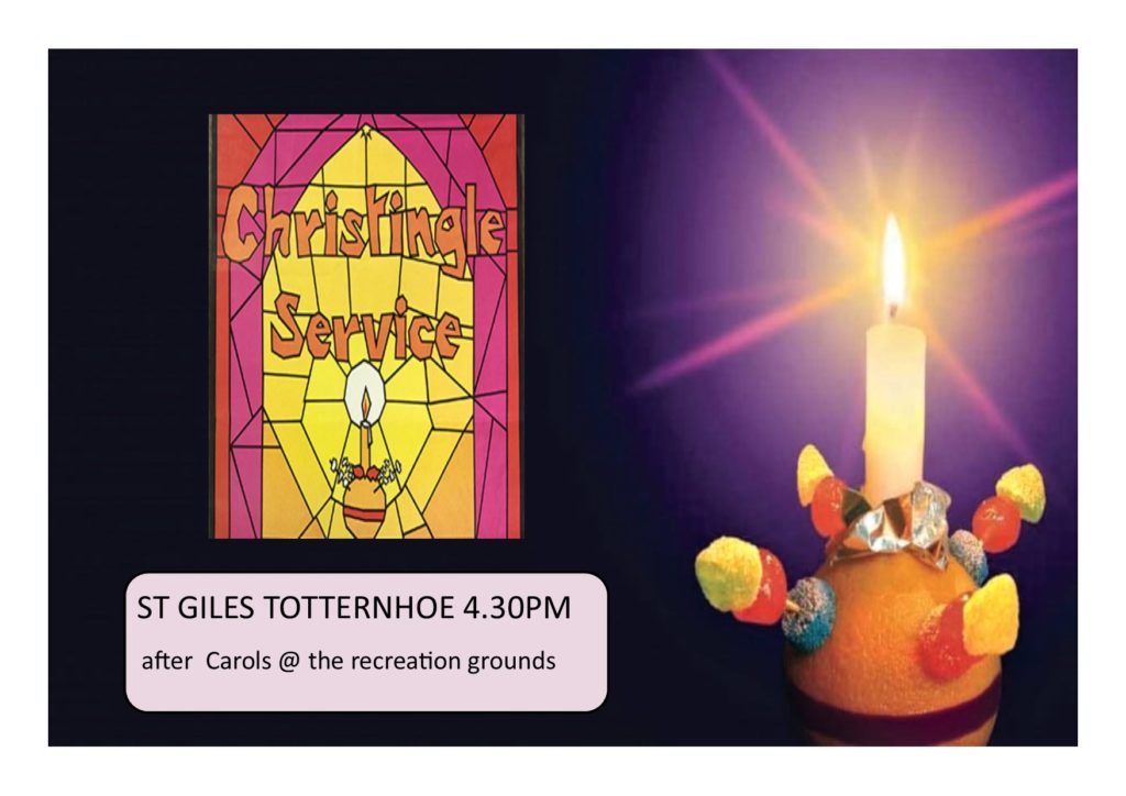 Christingle St Giles totternhoe